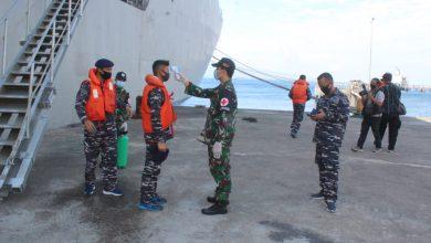 Photo of Kapal Kebanggaan TNI AL, KRI dr. Soeharso-990 Tiba di Perairan Banyuwangi