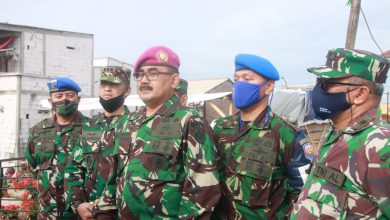 Photo of Danlanal Semarang Sambut Tim Satgas Bintahwil Tahun 2020 Dispotmar Mabesal
