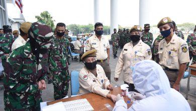 Photo of Upaya Pencegahan Dini, Pasca Cuti Bersama Personel AAL Jalani Rapid Test