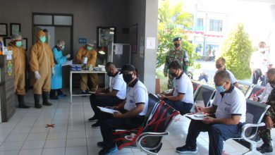 Photo of Jalani Rapid Test, Seluruh Anggota Lanal Banyuwangi Non Reaktif