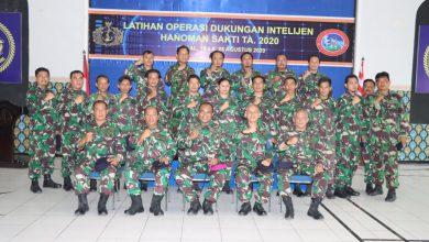 Photo of Latihan Operasi Dukungan Intelijen Di Tutup Di Mako Lanal Tegal