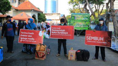 Photo of Jumlah Pasien Sembuh Covid-19 Capai 5.822, ini 10 Kelurahan dengan Jumlah Kasus Terendah di Surabaya