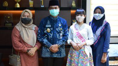 Photo of Keyza Chameela Pamit Wakil Bupati Gresik, Mohon Doa Restu Hadapi Kontes Putri Cilik