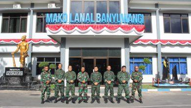 Photo of Danlanal Banyuwangi Terima Kunjungan Tim Pokja Kodam V Brawijaya