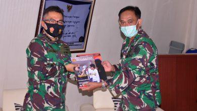 Photo of Lantamal V Terima Kunjungan Kerja dari Tim Pusjarah Mabes TNI