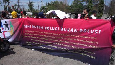Photo of Dianggap Tak Peduli Warga Ring 1, Puluhan Orang Demo PT KAS