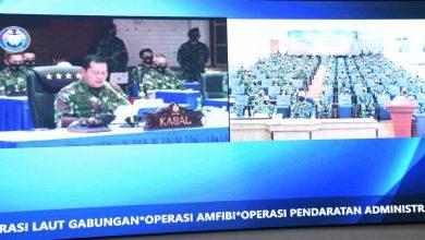 Photo of TNI AL Menggelar Latihan Armada Jaya Secara Virtual.