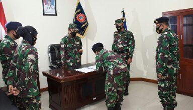 Photo of Letkol Laut (KH/W) Anna Maria, S.H Jabat Kabagkum Kodiklatal