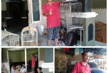 Photo of Ditengah Pandemi Covid-19, Tidak Membutpat Surut Pembuat Sangkar Burung Dusun Karangasem, Desa Karangsemanding