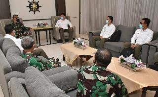 Photo of Dirum Kodiklatal Terima Kunjungan Kerja Pejabat Lembaga Pendidikan STIN