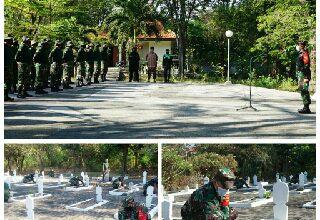 Photo of Bentuk Penghormatan Kepada Para Pahlawan, Kodim 0817/Gresik, Gelar Karya Bhakti Pembersihan (TMP) Randuagung