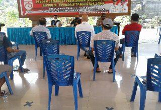 Photo of Sosialisasikan Covid – 19 Tiga Pilar Kumpulkan Pemilik Cafee dan Warung di Balongpanggang