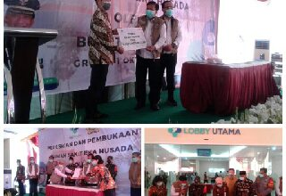 Photo of Bupati Sambari Halim Radianto Resmikan RS Eka Husada Gresik
