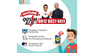 Photo of Qosim Alif Buka Layanan Hotline 24 Jam