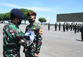 Photo of Tingkatkan Profesionalisme Prajurit Matra Laut, Taruna AAL Korps Pelaut Latihan Mantak dan Proskomtis