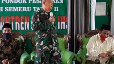 Photo of Danramil 0817/04 Menganti Mendampingi Kegiatan Pertemuan Wali Santri Ponpes Al-Ashar Darul Ikhsan
