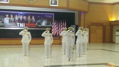 Photo of Komandan Kodiklatal dan Pejabat Utama Ikuti Upacara HUT TNI ke-75 Tahun 2020 Secara Virtual