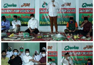 Photo of Temui Relawan dan Simpatisan di Benjeng, Qosim-Alif Targetkan 70 Persen Suara