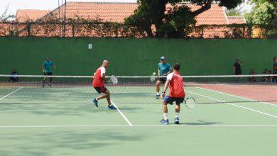 Photo of Empat Pusdik Melaju ke Semifinal Pertandingan Tenis Lapangan Antar Siswa Kodiklatal