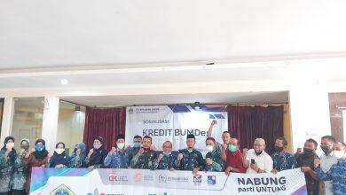 Photo of PD Bank Pasar  Gresik Salurkan Kredit Ke Bumdes