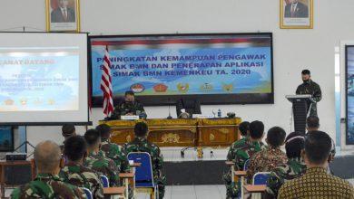 Photo of Danlanal Semarang Sambut Kedatangan Tim Bimtek Simak BMN Tahun 2020 Di Mako Lanal