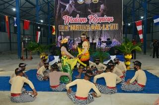 Photo of Tarian Nusantara Taruna AAL Meriahkan Malam Kesenian Satlat KJK 2020 di Sabang