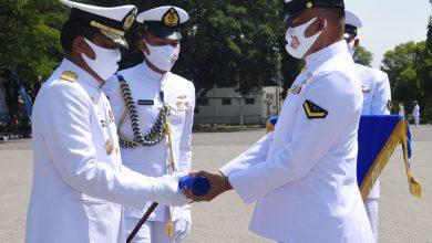 Photo of Dankodiklatal Lantik 999 Siswa Diktukbakat TNI AL TA 2020
