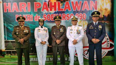 Photo of Wakili Gubernur AAL, Dirrenbang dan Dirpers Hadiri Tabur Bunga Peringatan Hari Pahlawan 2020