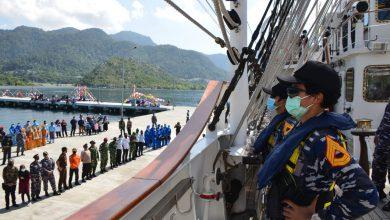 Photo of Taruna AAL Satlat KJK 2020 Disambut Meriah Masyarakat Kepulauan Natuna