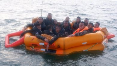 Photo of Siswa Senerbal Pusdiksus Kodiklatal Lattek Sea and Jungle Survival