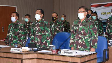 Photo of Dankodiklatal Ikuti Rakor Renaku II TNI Angkatan Laut Tahun 2020 Secara Virtual