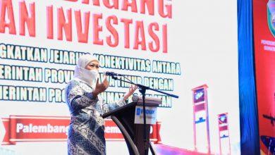 Photo of Pimpin Misi Dagang, Gubernur Khofifah Harapkan Jejaring dan Konektivitas Perdagangan Jatim-Sumsel Makin Kuat