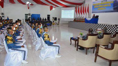 Photo of Taruna AAL Satlat KJK Terima Pembekalan Pangkoarmada III