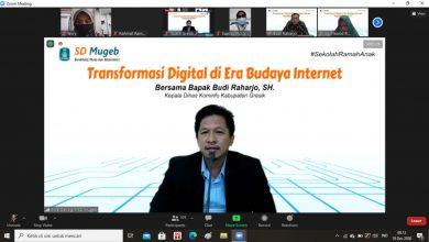 Photo of Kepala SD Muhammadiyah 1 Live Zoom Dengan Wali Siswa