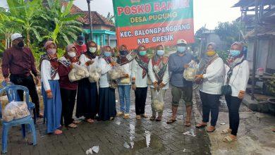 Photo of Himpunan Istri Sekdes Peduli Terhadap korban Banjir Desa Pucung