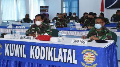 Photo of Kakuwil dan Prajurit Kodiklatal Laksanakan Rekonsialiasi Internal Tingkat Satker TNI AL Semester II TA 2020 Secara Virtual