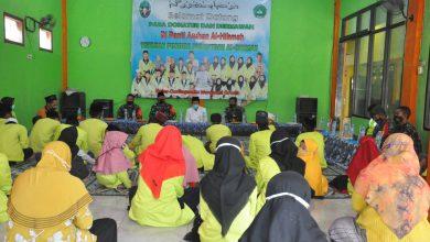 Photo of Bantuan Sembako Di Distribusikan Kepada Yatim Piatu Ponpes Al-Hikma Menganti