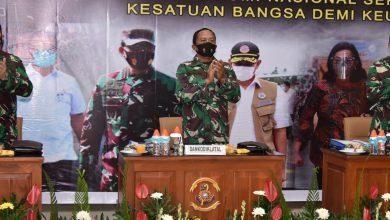 Photo of Komandan Kodiklatal Hadiri Rapim TNI Tahun 2021