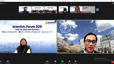 Photo of Smamio Gresik Gelar Webinar Bersama ilmuan Ketua Umum Ikatan Ilmuan Indonesia Internasional
