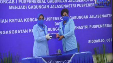 Photo of Ketua Gabungan Jalasenastri Kodiklatal Hadiri Perubahan Kepengurusan Jalasenastri Puspenerbal