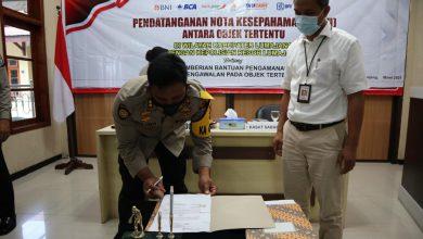 Photo of Kapolres Lumajang Jatim Melaksanakan Penandatanganan MoU dengan Pengguna Jasa