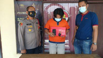 Photo of Polisi Dukun Gresik Ringkus Pemuda Lamongan Membawa Plastik Klip Berisi Sabu