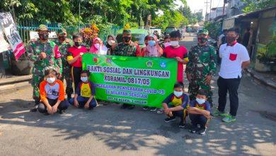 Photo of Koramil 0817/05 Kota Ajarkan Siswa Sekolah Dasar Disiplin  Protokol Kesehatan