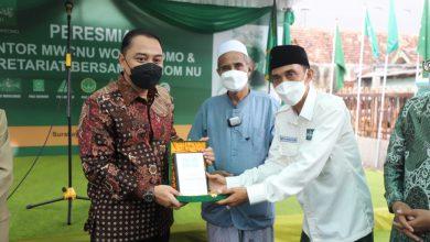 Photo of Resmikan Kantor MWC NU, Wali Kota Eri Cahyadi Berharap Bisa Bermanfaat Manfaat untuk Umat