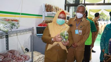 Photo of Dinas Pertanian Gresik Gagas Toko Tani Gresik Centre