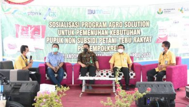 Photo of Petrokimia Gresik menggelar sosialisasi dan MoU program Agro Solution bersama Pabrik Gula (PG) Gempolkerep.