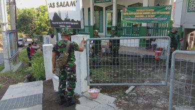 Photo of Koramil  0817/07 Kebomas  Gelar  Karya Bakti Di Mushola Assalam