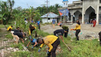 Photo of Satlat-2 Hiu Latsitardanus XLI, Kembali Gelar Karya Bhakti Rumah Ibadah di Stabat Kabupaten Langkat