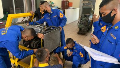 Photo of 16 Taruna AAL Tingkat ll Korps Teknik Jalani Latihan Praktek Top Overhaul