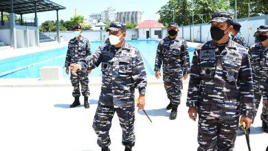 Photo of Komandan Kodiklatal Tinjau Sarpras Satdik 2 dan Sekesal Makasar
